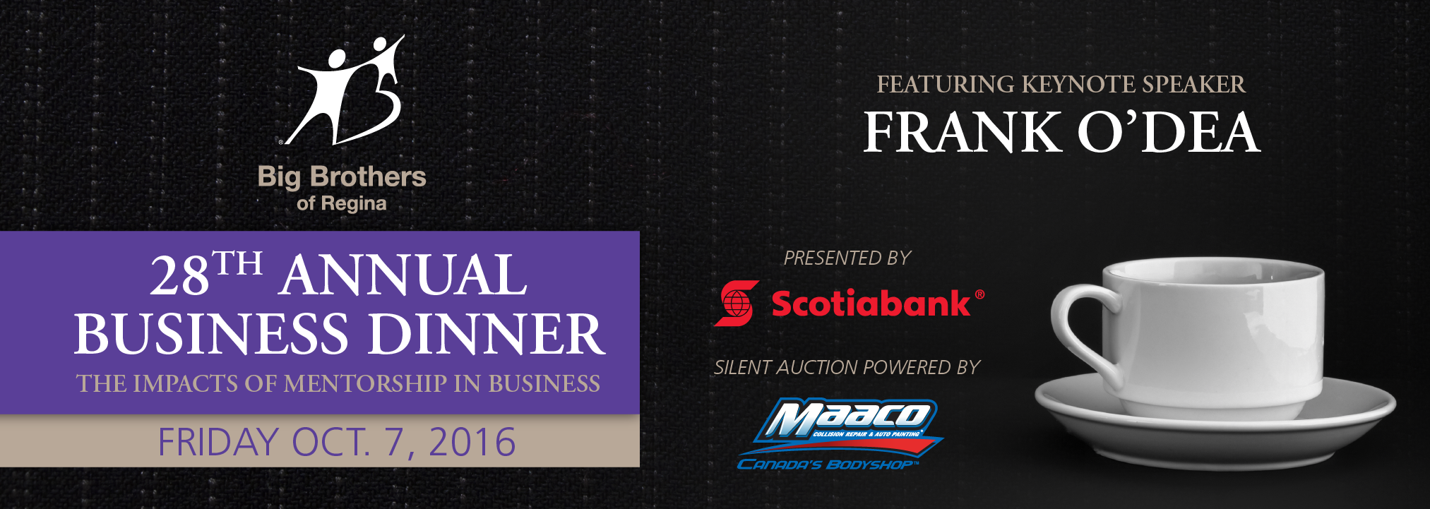 Big Brothers of Regina 28th Annual Business Dinner and Auction